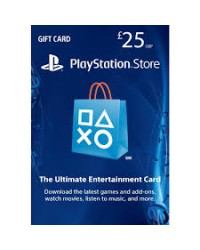 SONY PS4 CARD 25