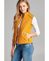 QUILTED PADDING VESTS