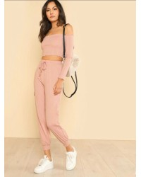 OFFSHLDR JOGGER SET IFS5803
