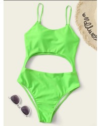 CAMI CUTOUT SWIMWEAR