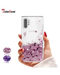 SAM NOTE 10 PLUS GLITTER CASE