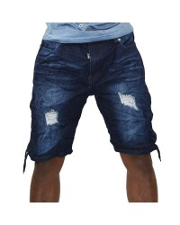 MEN EURO DENIM SHORTS
