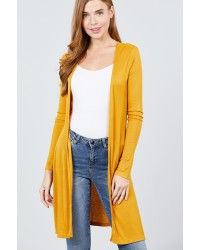 RIBBED CARDIGANS