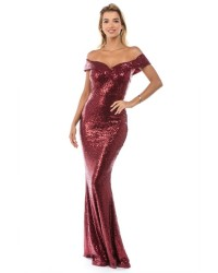 LADIES FORMAL MAXI DRESS
