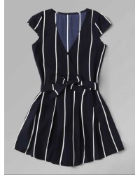 VERTICAL STRIPE ROMPERS