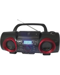 NAXA  BOOMBOX MP3/CD BT,AUX-