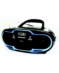 NAXA BLACK W/BLUE PORTABLE