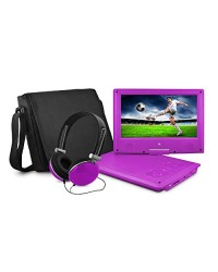 EMATIC 7' LCD DVD PLAYER W/HEADPHONE