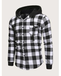 MEN PLAID PULLOVER