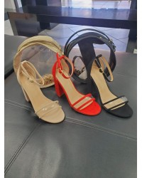 LADIES BOX HEELS