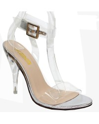 LADIES CLEAR HEELS