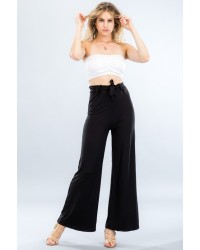 KNIT SOLID PANTS