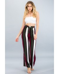 KNIT WIDE LEG PANTS