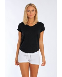 LADIES VNECK T S