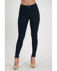421 LADIES JEANS NAVY BLUE